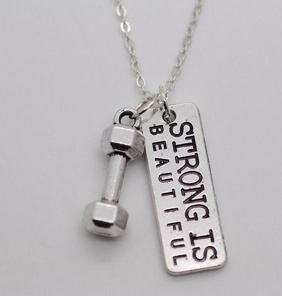 Strong Is Beatiful Necklace