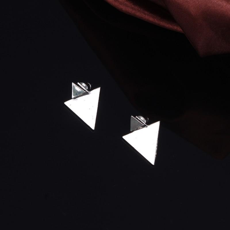 Atlantis Triangle Earrings