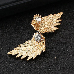 Exquisite Angel Wing Earrings