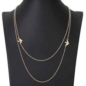 Pigeon Peace Necklace