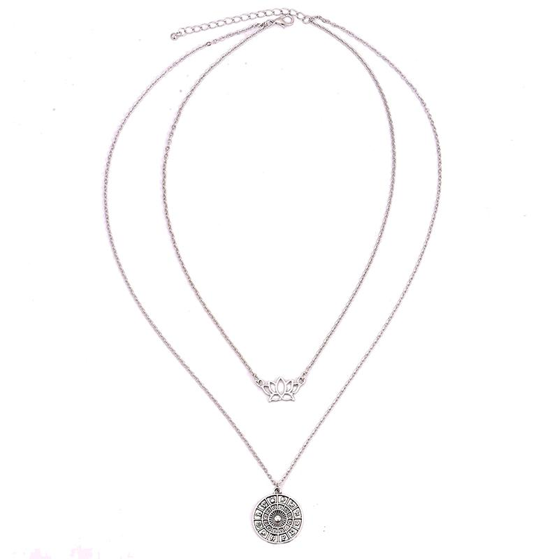 Multilayer Uranus Necklace