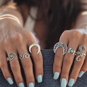 Summer Moon Rings
