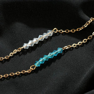 Simple Gem Anklet