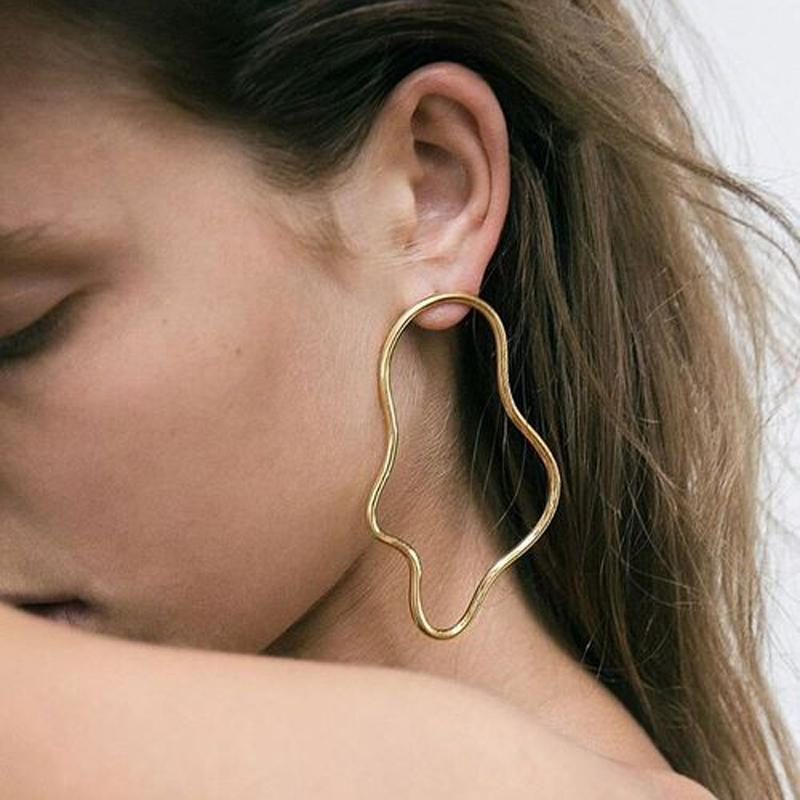 Irregular Geometric Earrings