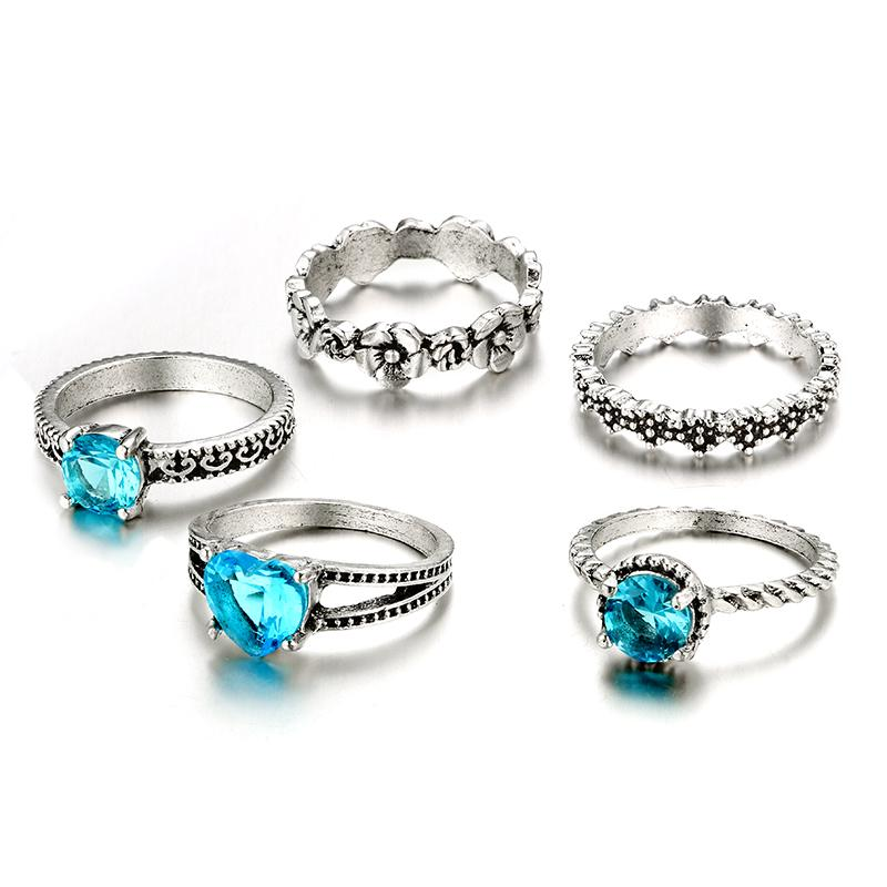 Blue Odyssey Rings