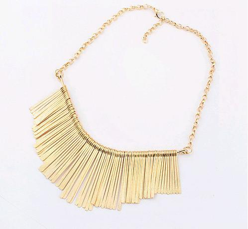 Metal Collar Necklace