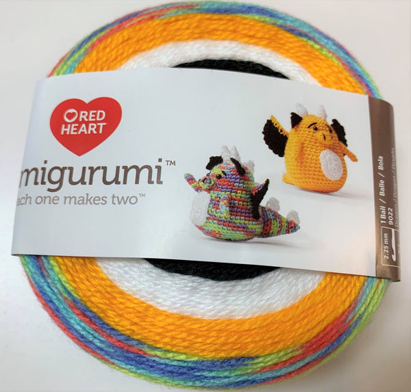 Amigurumi dragons de Red Heart