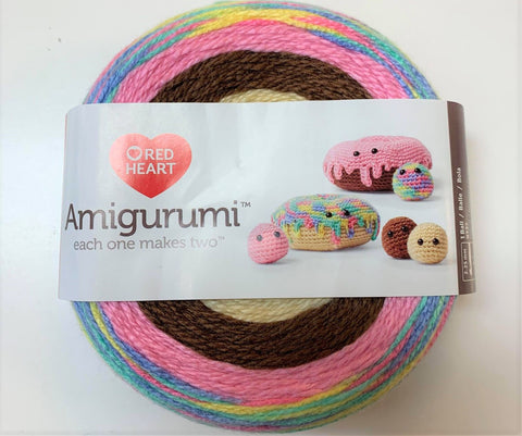 Amigurumi donuts de Red Heart