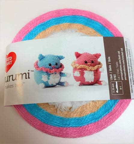 Amigurumi chat de Red heart