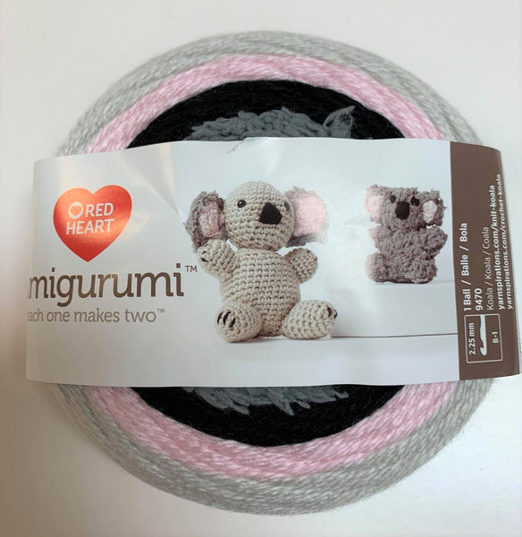 Amigurumi koala de Red heart