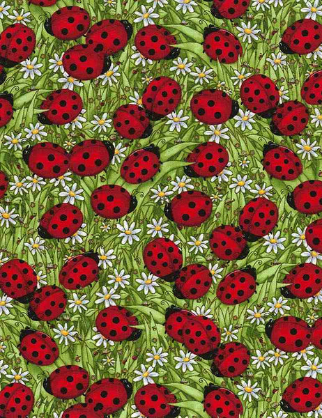 Ladybugs de Timeless Treasures