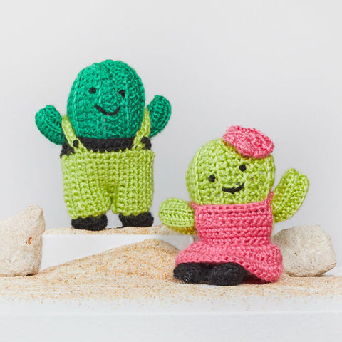 Amigurumi cactus de Red Heart