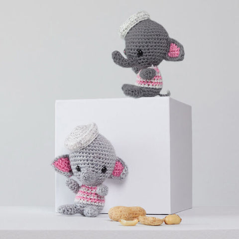 Amigurumi éléphants de Red Heart