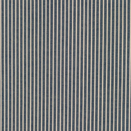 Crawford Stripes navy de Robert Kaufman