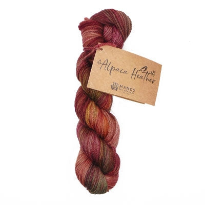 Alpaca Heather Hand Dyed de Manos Del Uruguay