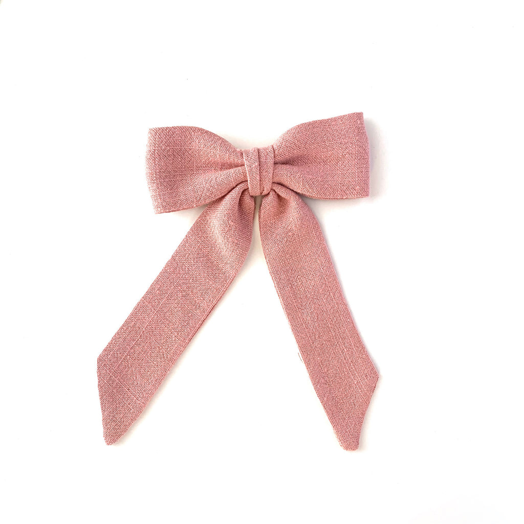 Classic Bow, Rose