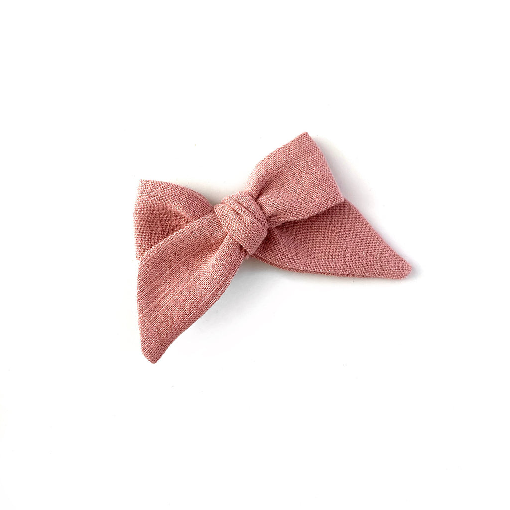 Baby Tied Bow, Rose