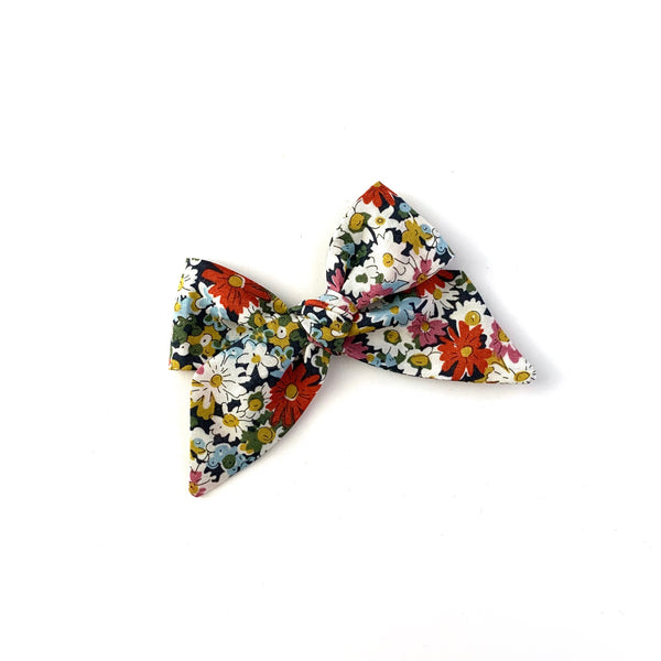 Baby Tied Bow, Liberty Multi Floral