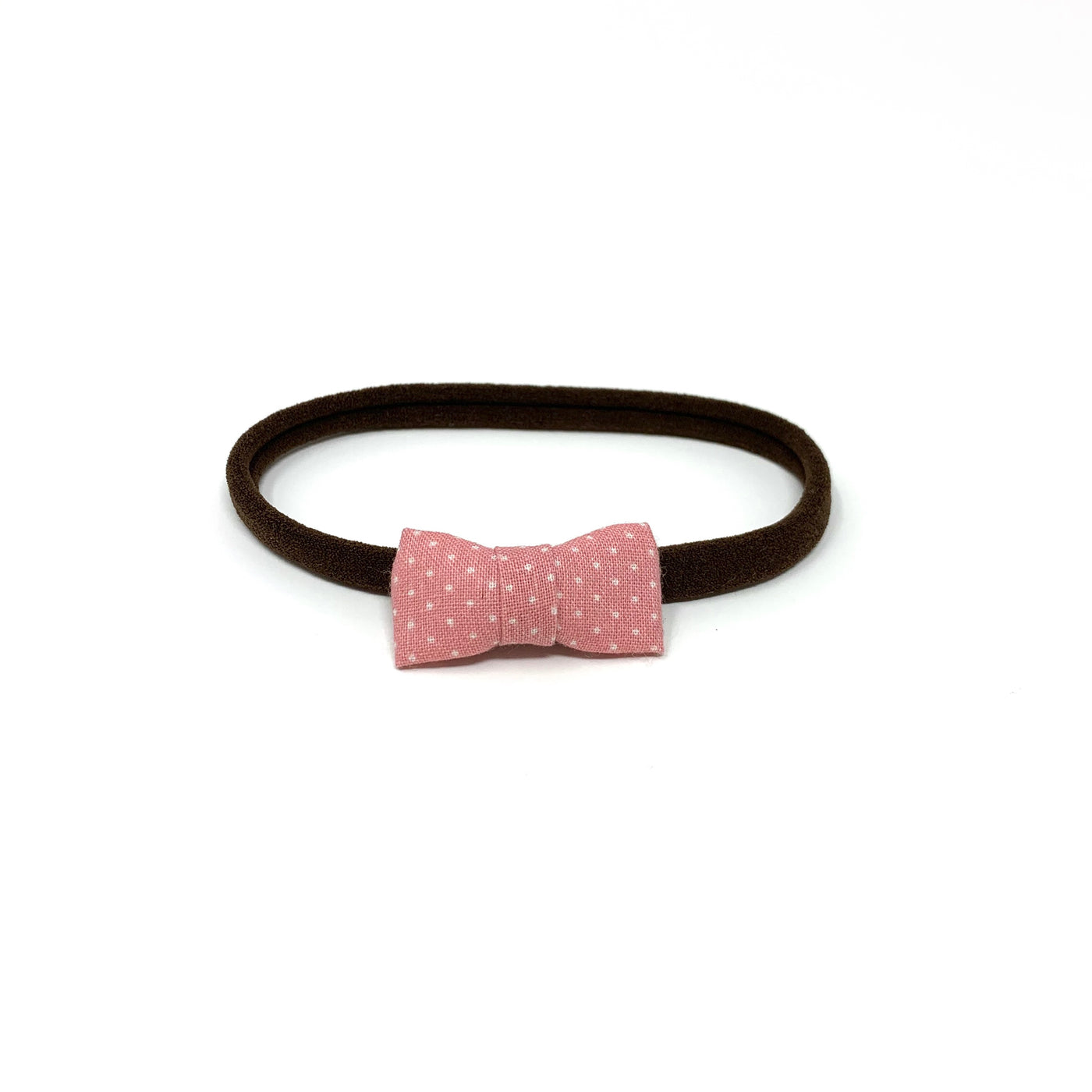 Itty Bitty Bow, Pink Pin Dot