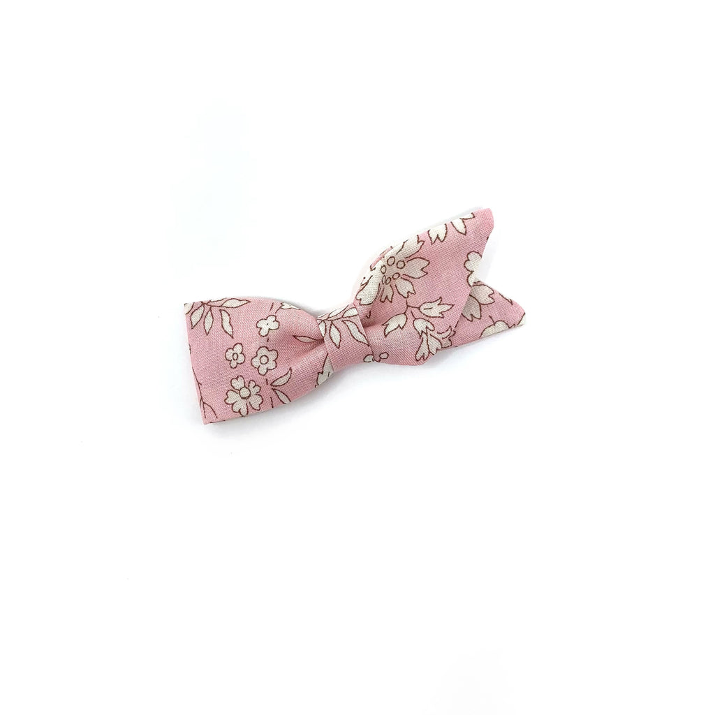 Petal Bow, Liberty Baby Pink Floral