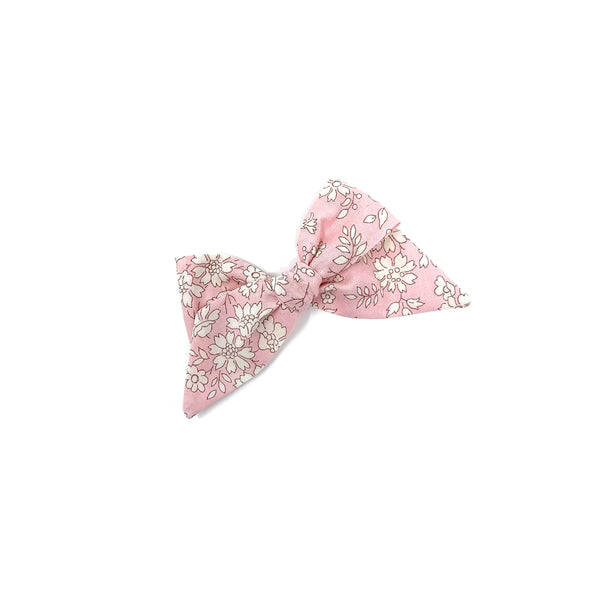 Baby Tied Bow, Liberty Baby Pink Floral
