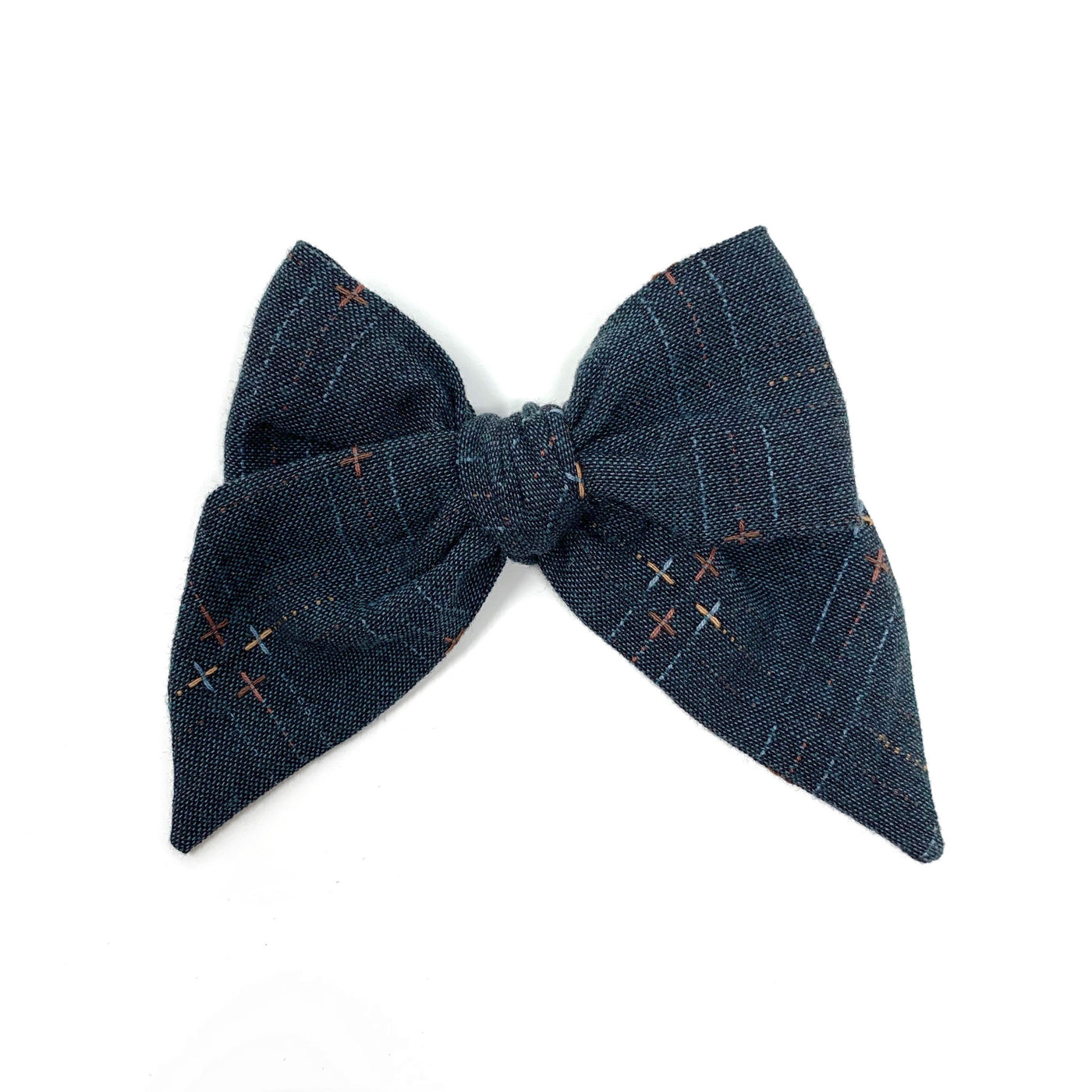 Woven Bow, Charcoal