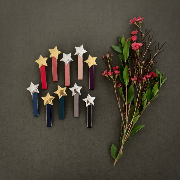 Star Clips, set of 2
