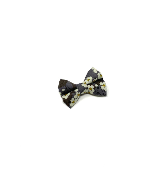Mini Bow, Liberty Gray Floral