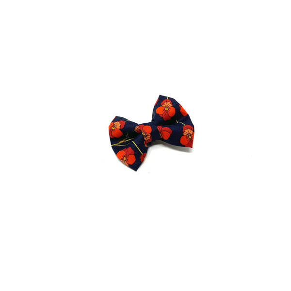 Mini Bow, Liberty Holiday Floral