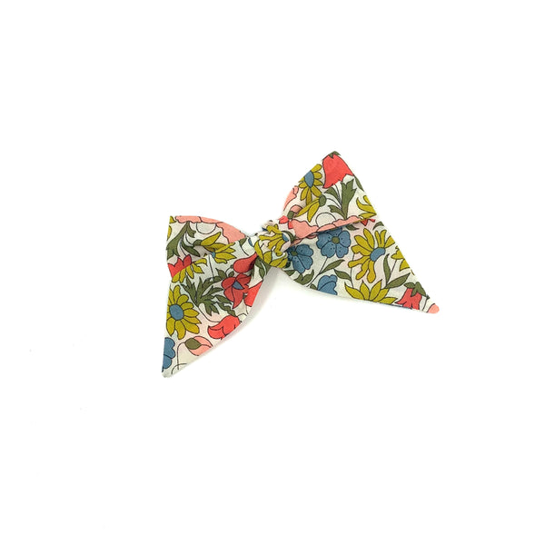 Baby Tied Bow, Liberty Mixed Floral