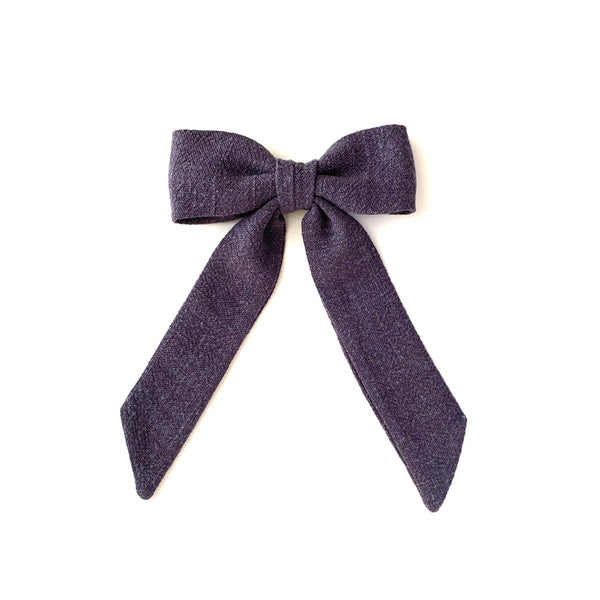 Classic Bow, Charcoal