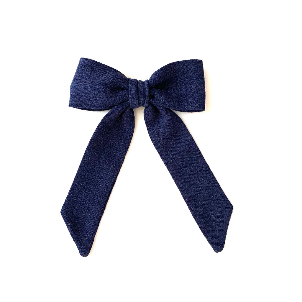 Classic Bow, Navy