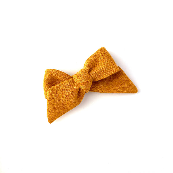 Baby Tied Bow, Gold