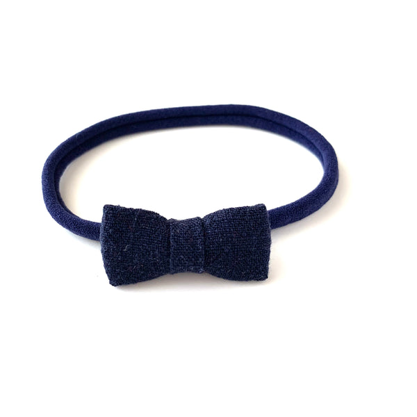 Itty Bitty Bow, Navy