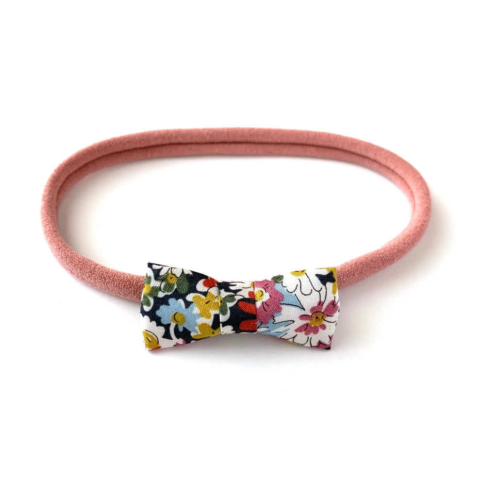 Itty Bitty Bow, Liberty Multi Floral