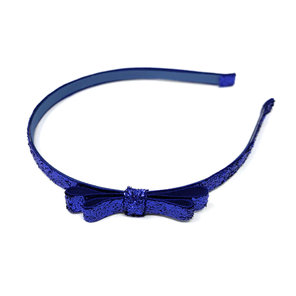 Glitter Headband, Royal