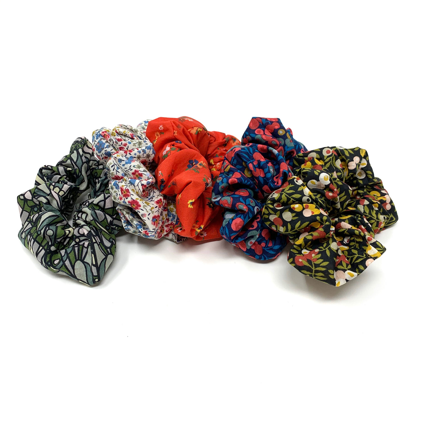 Liberty Floral Scrunchie