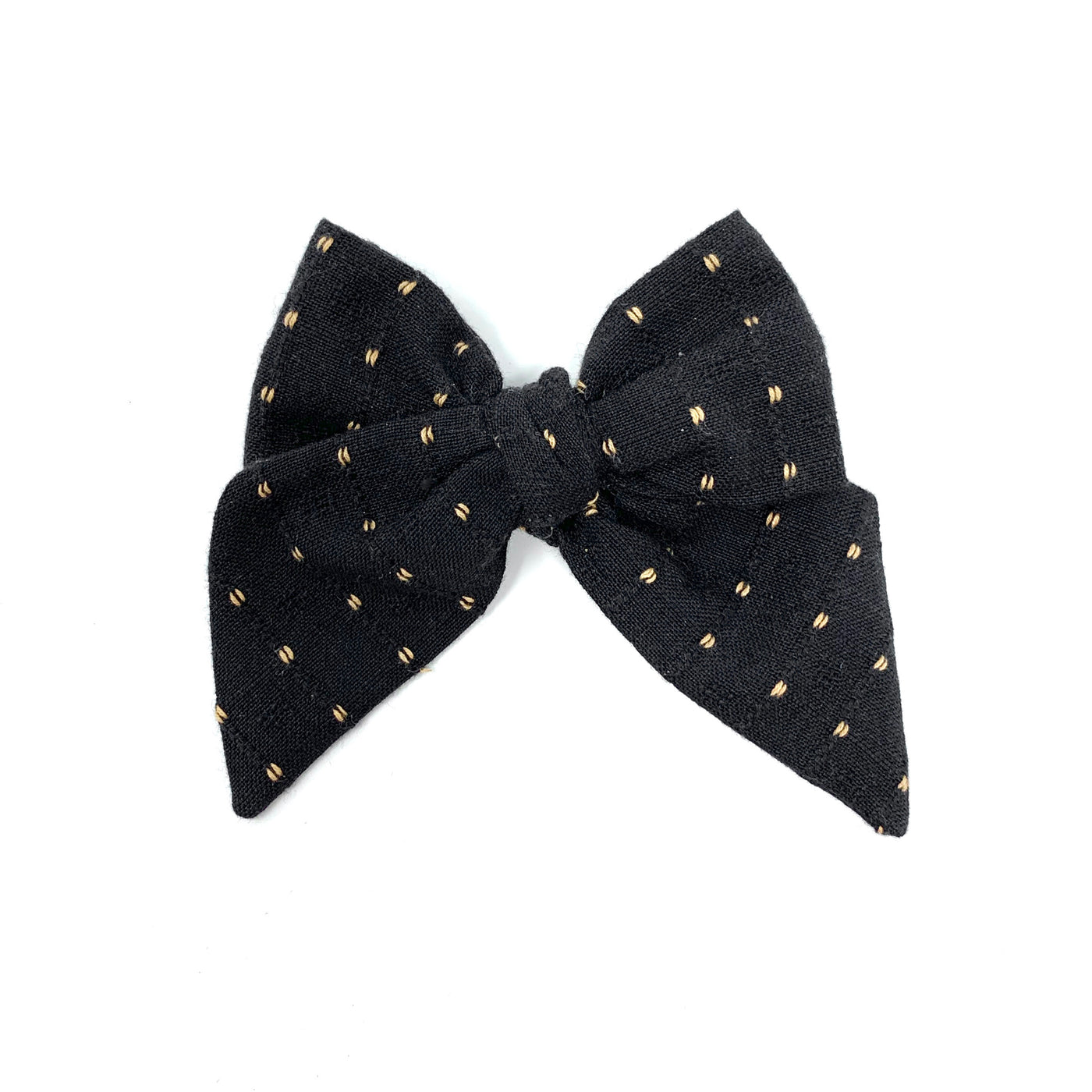 Woven Bow, Black