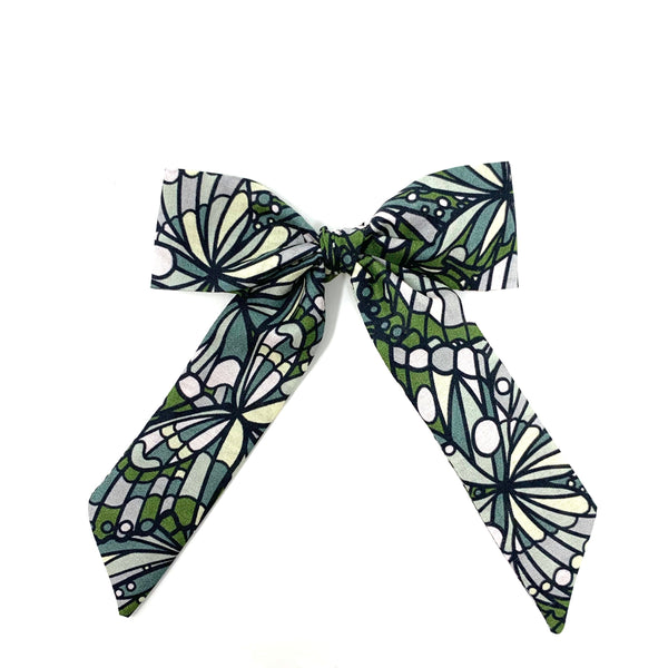 Classic Bow, Liberty Green Abstract