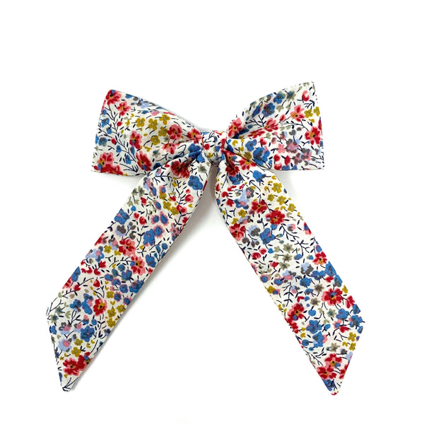 Classic Bow, Liberty White Floral