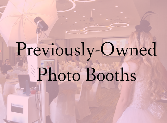 Previously-Owned Photo Booths