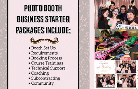 Photo booth business start ups