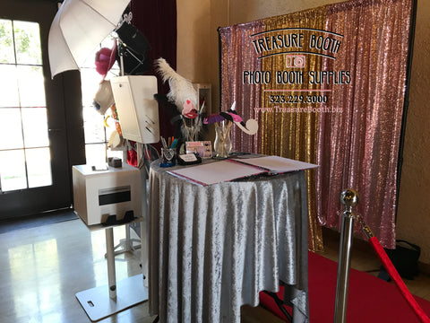 Treasure Booth All Inclusive Vip Photo Booth Rental Package