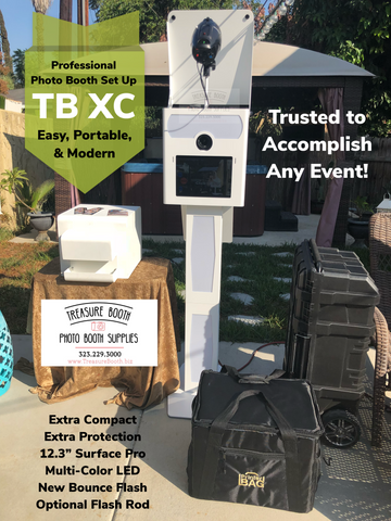 Treasure Booth TB XC Photo Booth, Small Photo Booth, compact photo booth, tiny photo booth,