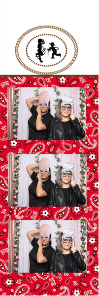Cow Boy Photo Strip