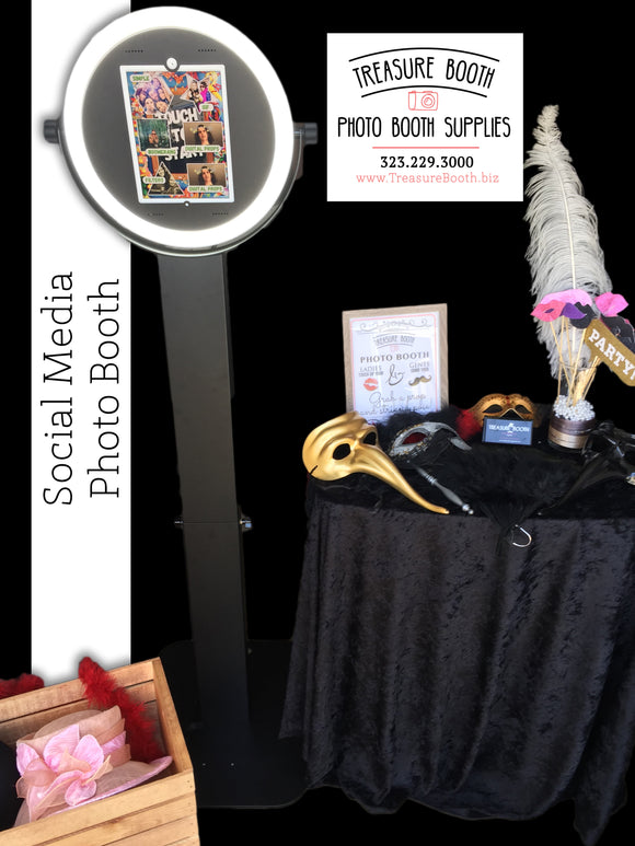 Self Service - Social Media Photo Booth Rentals Service