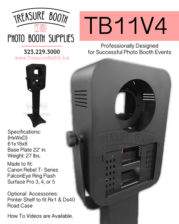 TB11V4 Photo Booth Shell