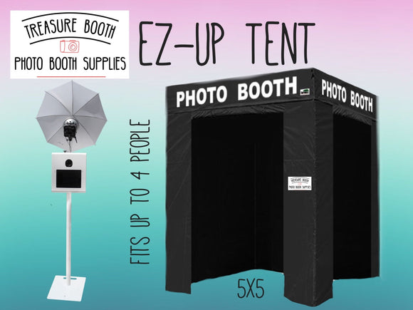 Photo Booth Tent with Custom Photo Booth Decal
