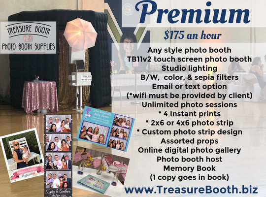 Premium Photo Booth Rental Service