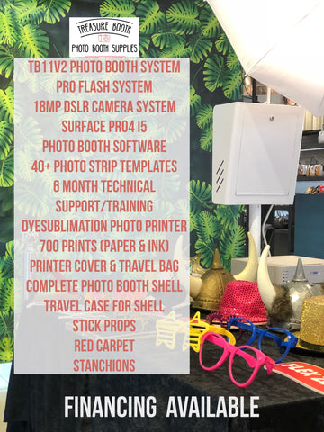 T11 2.0Photo Booth Business Equipment System